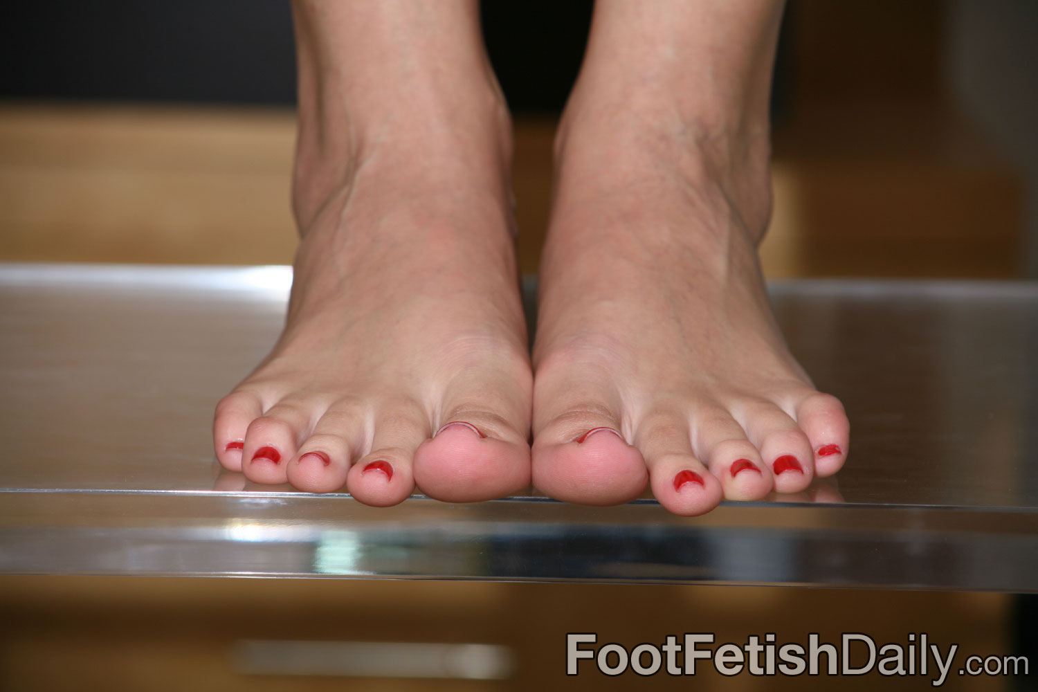 sexy toes close up